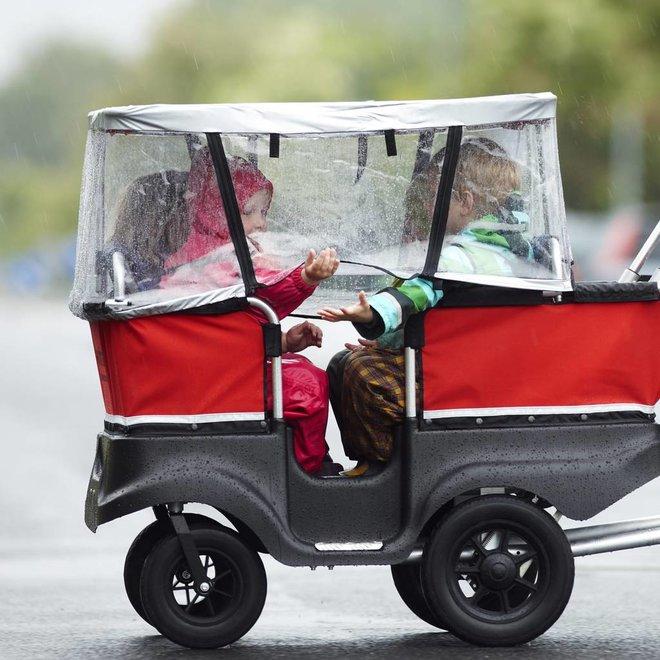 Regenscherm Kiddybus 4 zits