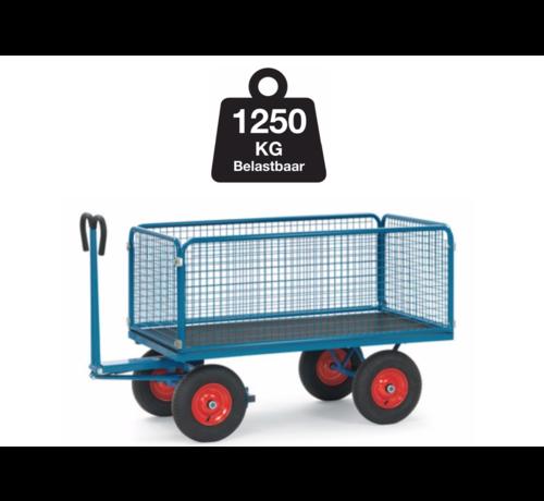 Transport Bolderkar XL met gaaswanden