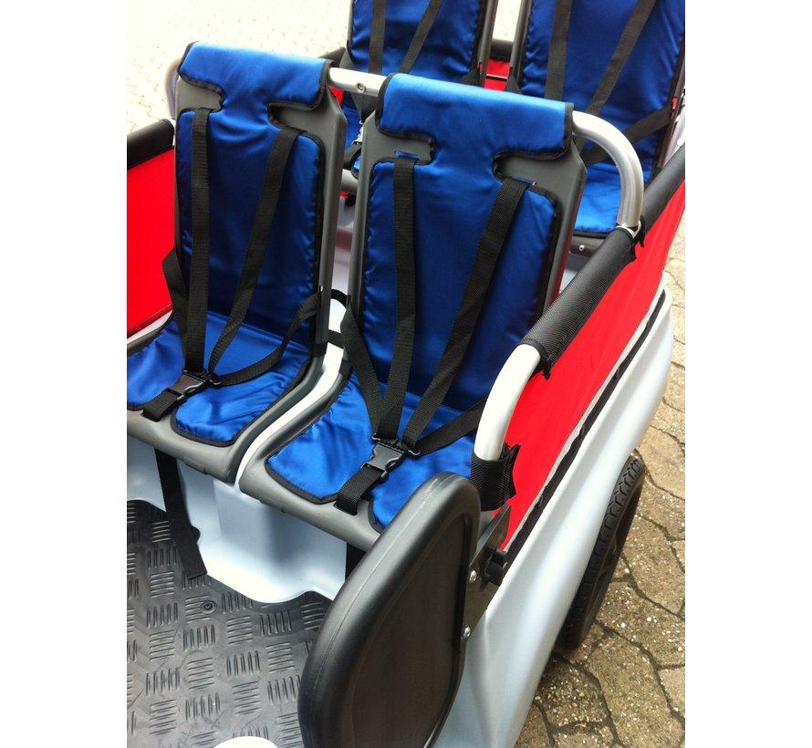 Kussentje blauw voor Kiddy bus