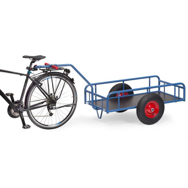 Transport Trekwagen met kunstof bak