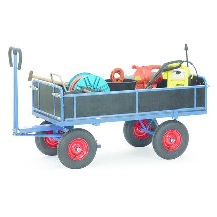 Vervoer veel spullen met deze handige transportkarren