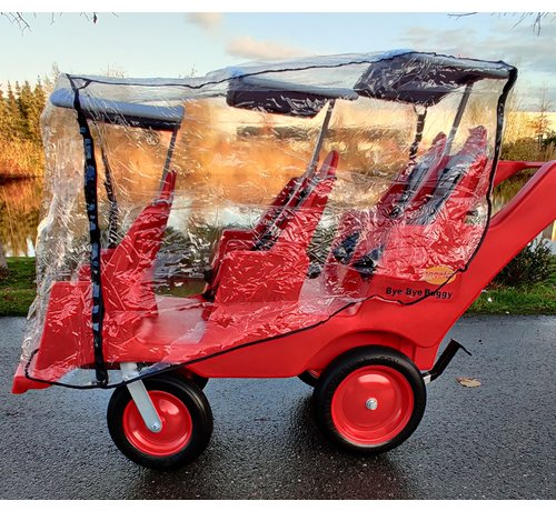 Angeles regenhoes voor Bye Bye Buggy 6-zits