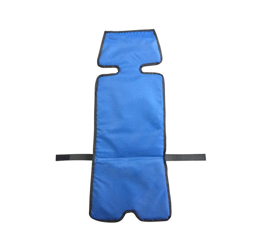 Kussentje blauw voor Kiddy bus (set van 2)