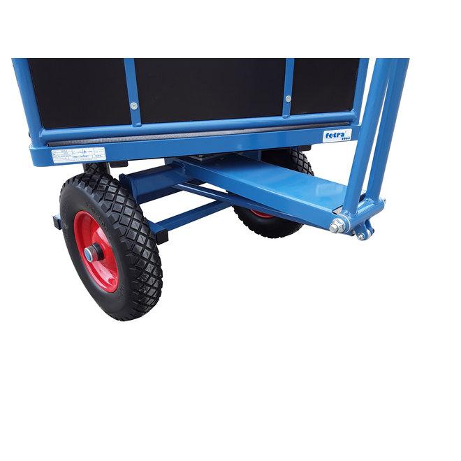 Transport Bolderkar XL wielen met opklapbare zijwanden