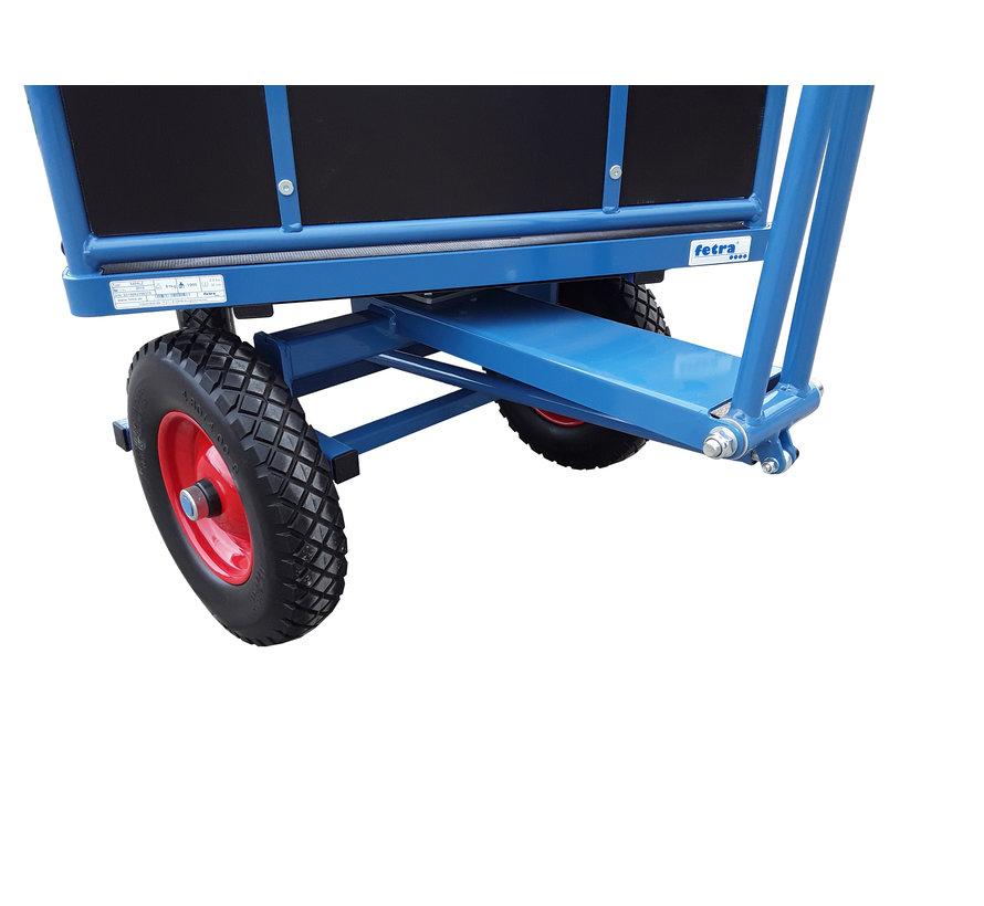 Transport Bolderkar XL met opklapbare zijwanden