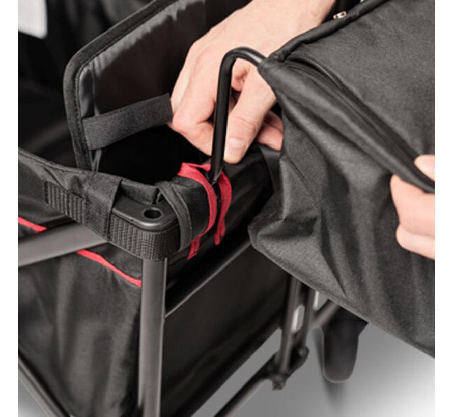 Elvent SmartCruiser Zwart 2-zits opvouwbaar