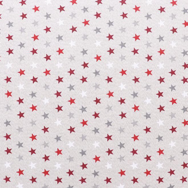 Inlegkussen Gekleurde sterren - Beige