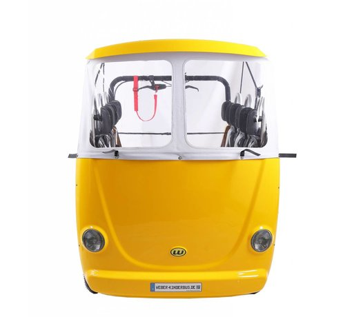 Weber Kinderbus 6 zits geel Elektrisch