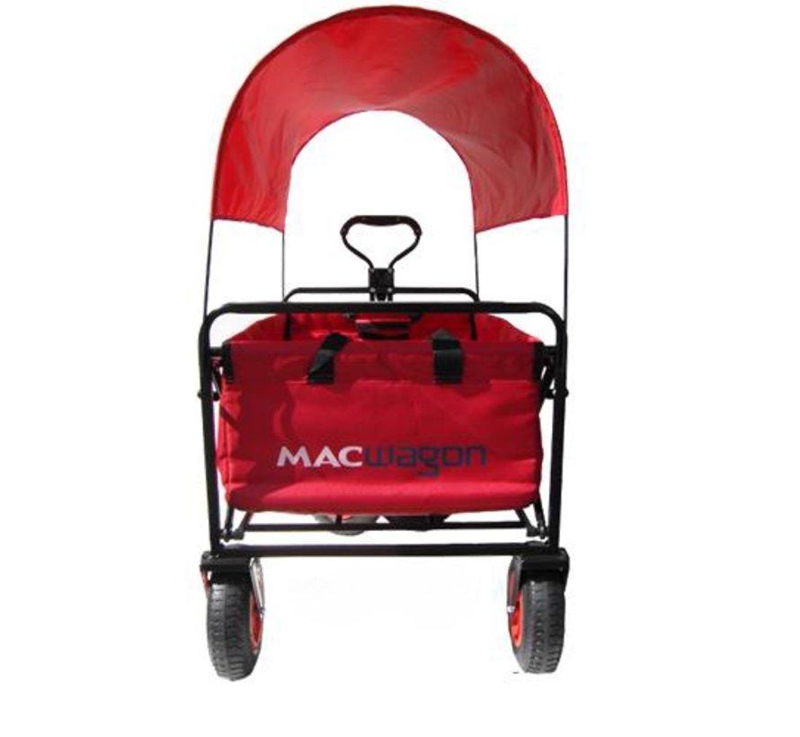 MacWagon opvouwbare bolderkar Luxe met GRATIS HUIF