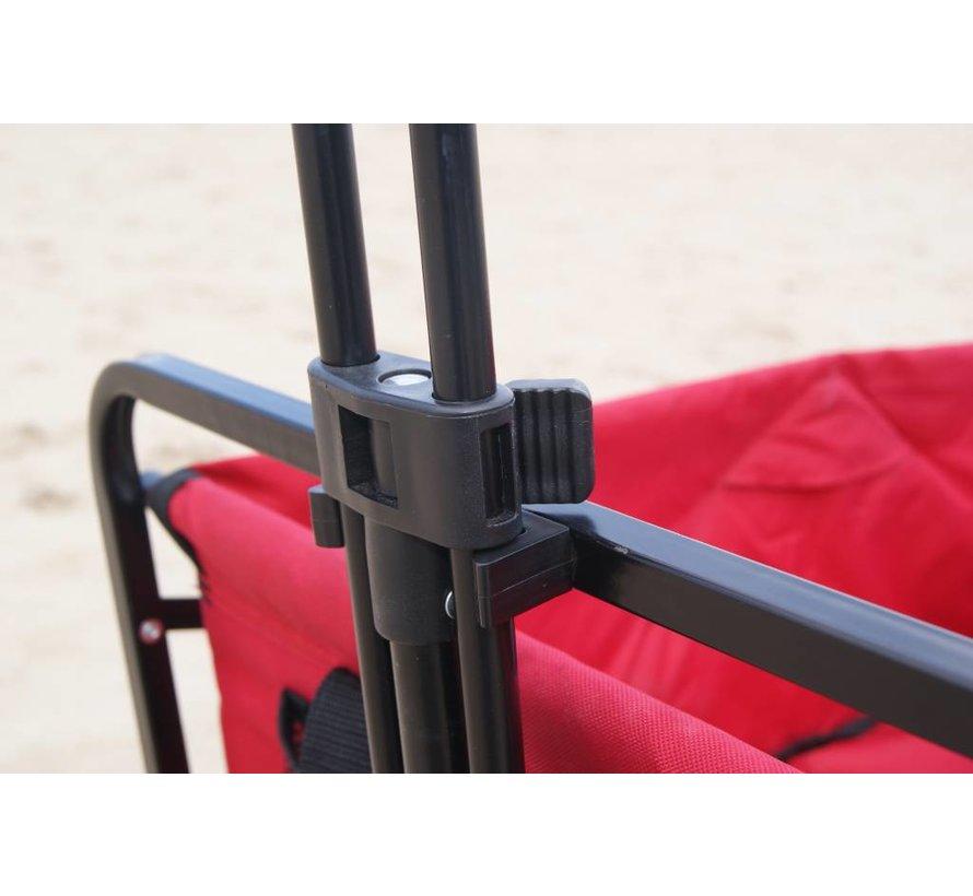 Wagon de luxe opvouwbare bolderkar luchtbanden