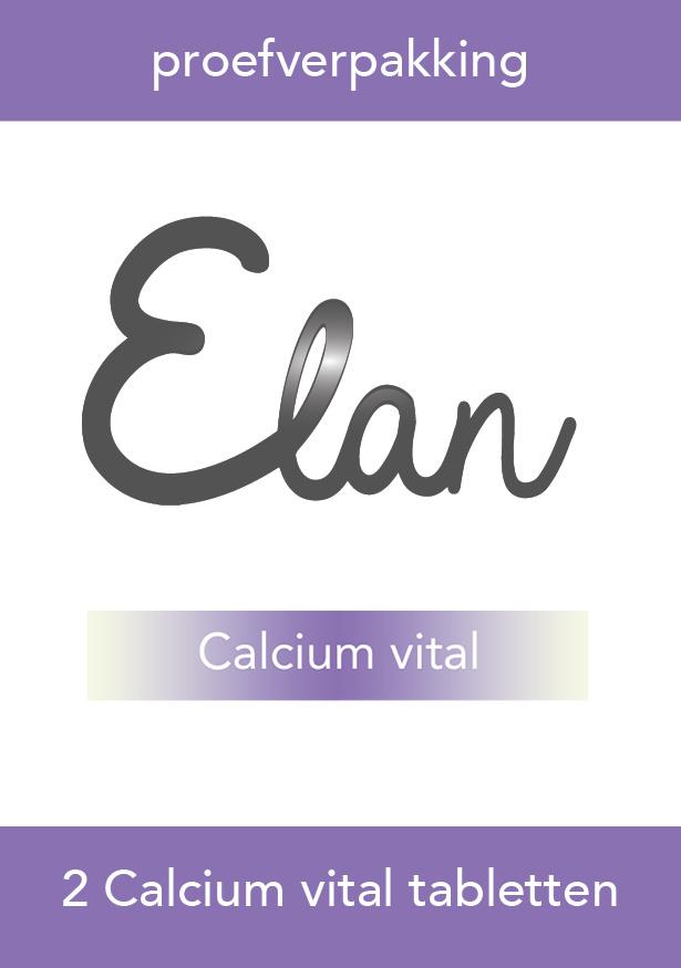 Proefverpakking Calcium vital tabletten