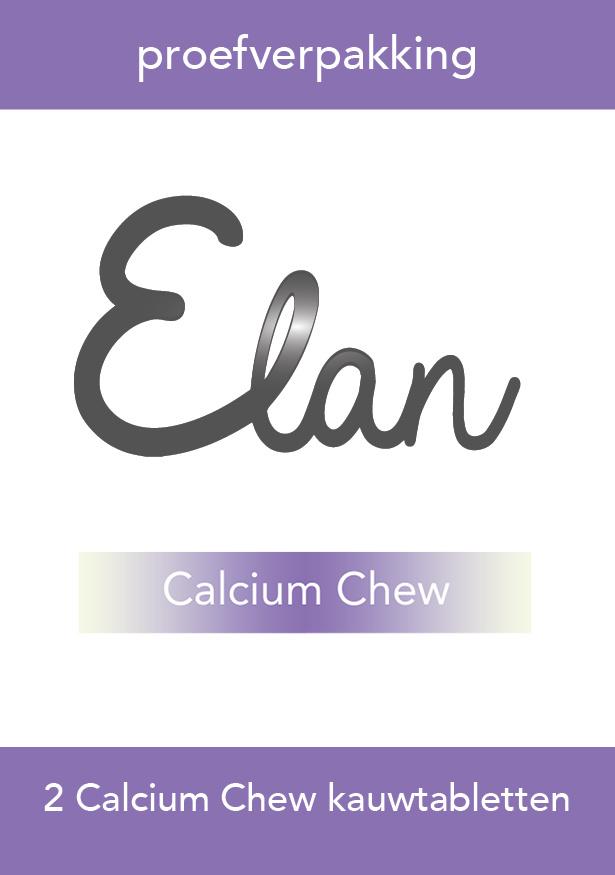 Paquet de test Calcium chewcomprimés à mâcher