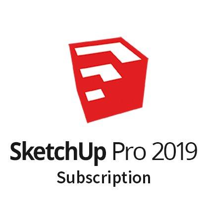 SketchUp Pro 2019 Subscription