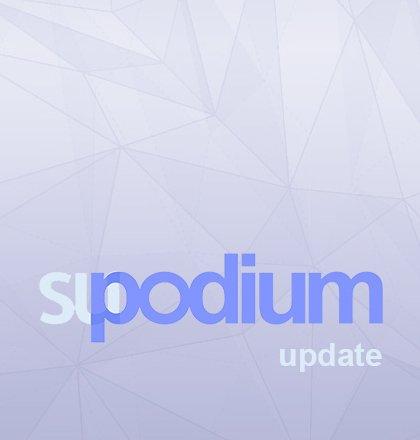 Update naar SU Podium v2.6