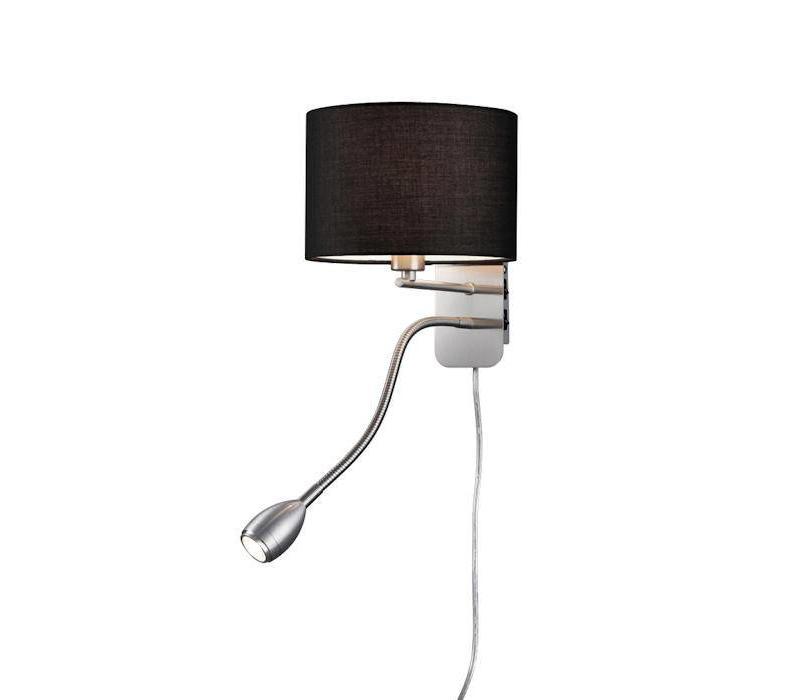 HOTEL R zwart bedlamp