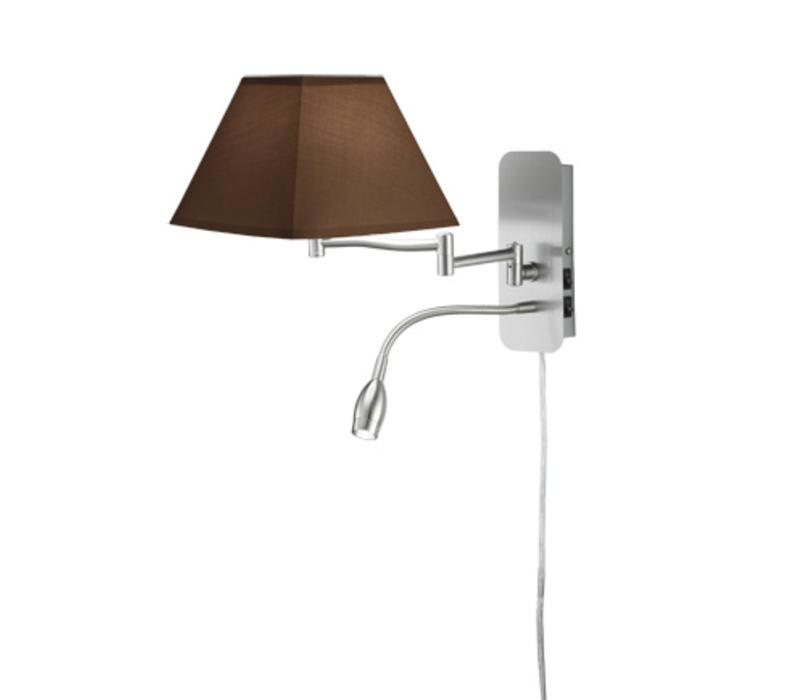 HOTEL V bruin bedlamp