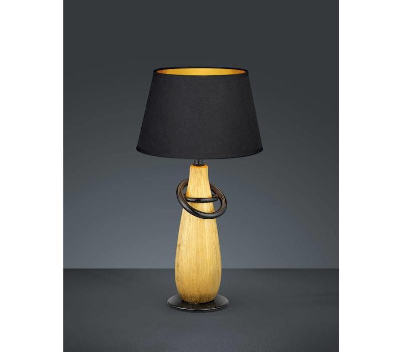 Thebes Zwart tafellamp