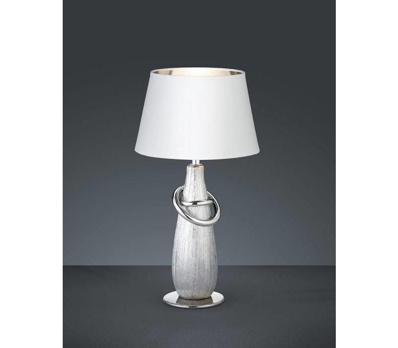 Thebes Zilver tafellamp