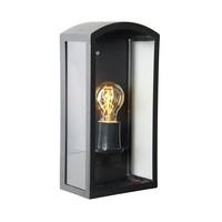 Como RVS Zwart wandlamp