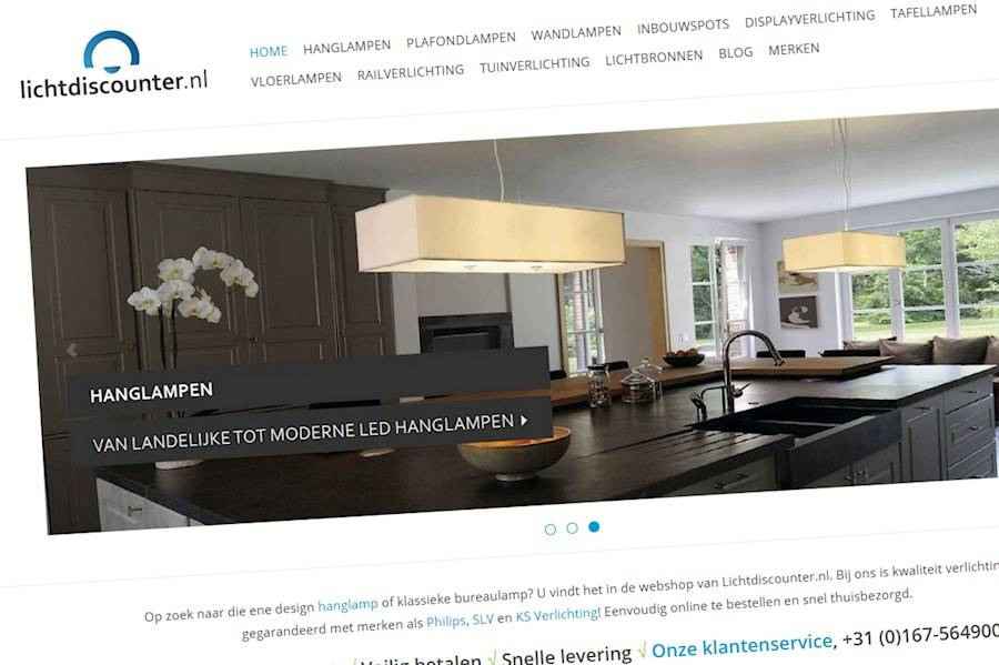 Lichtdiscounter.nl is vernieuwd