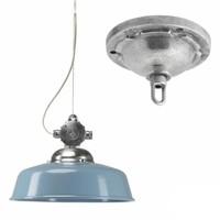 hanglamp Detroit Blauw