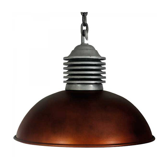 KS verlichting hanglamp Old Industry Dark Messing Look