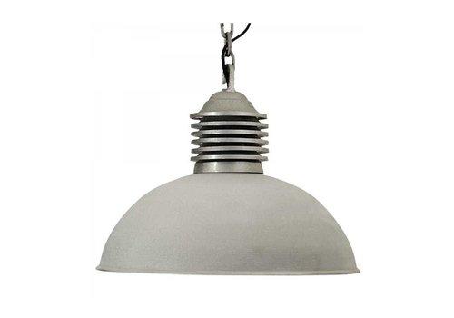 KS verlichting hanglamp Old Industry Mat Aluminium
