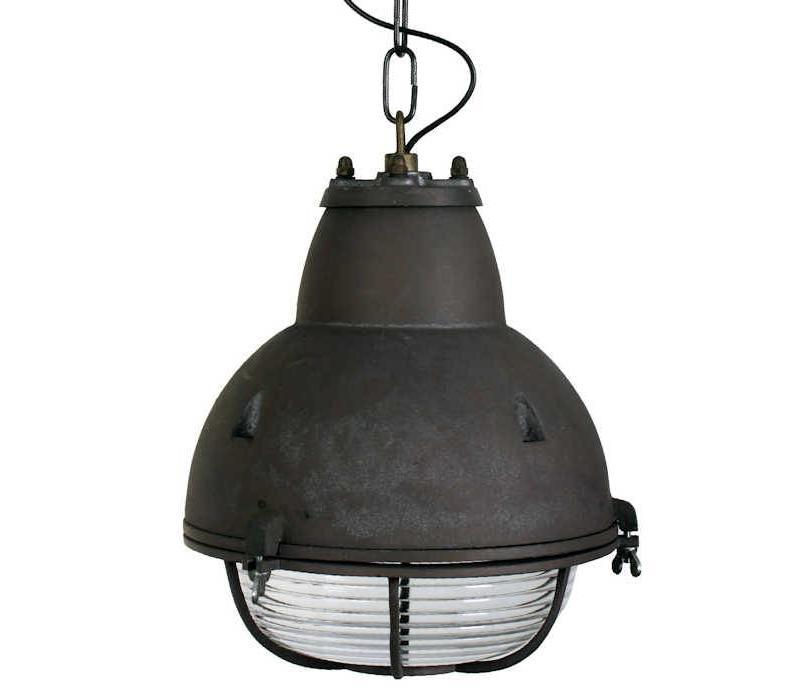 Kettinglamp Navigator Aluminium Zwart