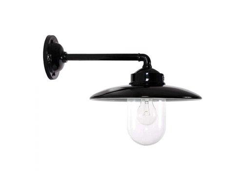 KS verlichting Wandlamp Palazzo ZWART