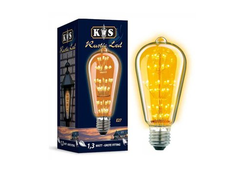 KS verlichting LED Lamp Rustic Led 1,3W