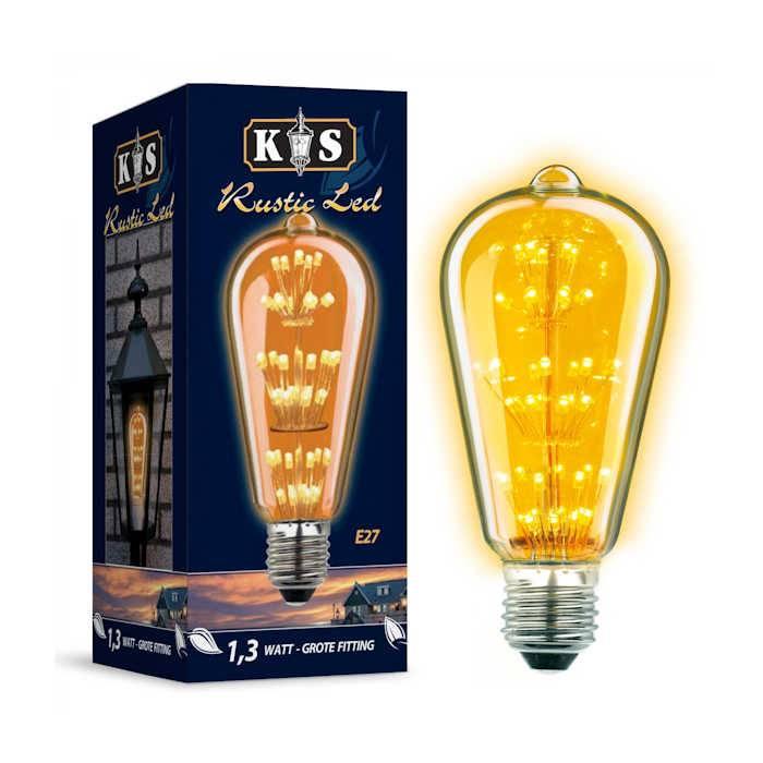 KS verlichting LED Lamp Rustic Led 1,3W