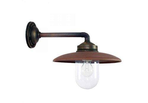 KS verlichting Wandlamp Palazzo BRONS/KOPER