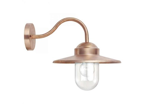KS verlichting Stallamp Dolce koper