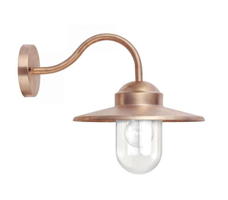 Stallamp Dolce koper