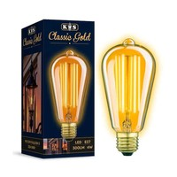 LED Lamp Classic Gold Rustic 4W