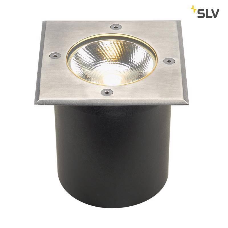 SLV grondspot ROCCI LED vierkant