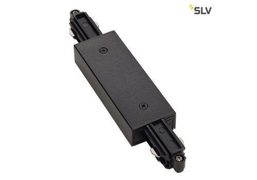 SLV Doorverbinder + voeding 1-fase ZWART