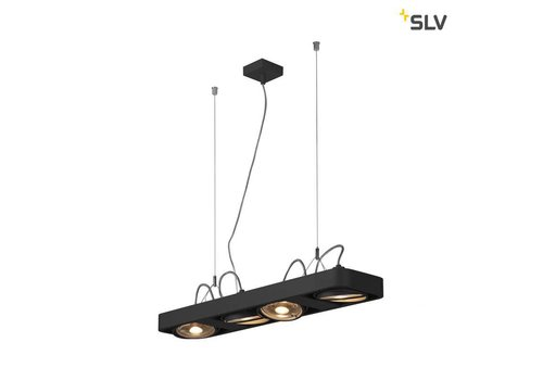 SLV Aixlight R2 LONG led QPAR111 Zwart hanglamp