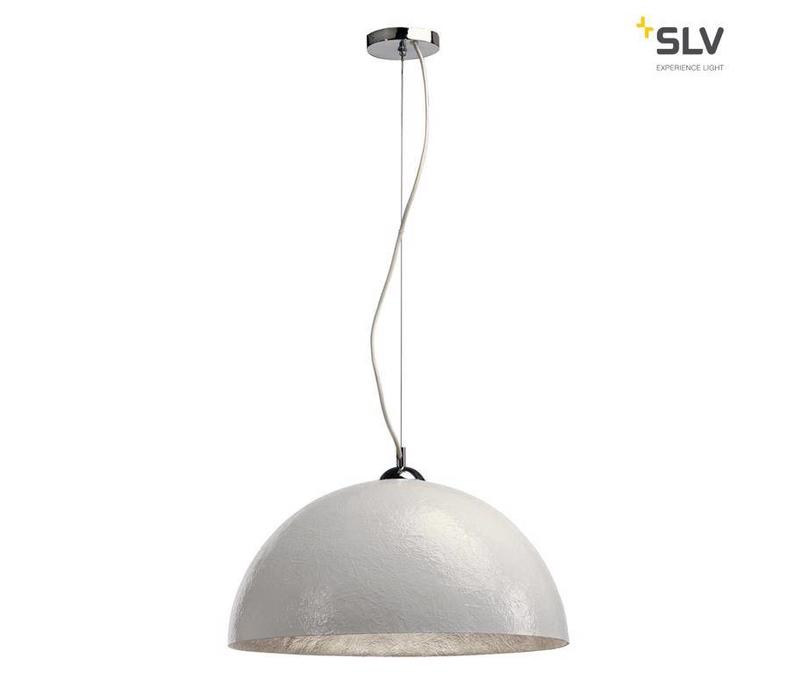 Forchini PD-1 wit / zilver hanglamp