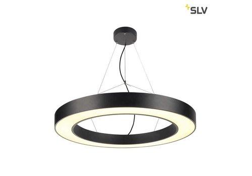 SLV Medo Ring 90 ZWART hanglamp