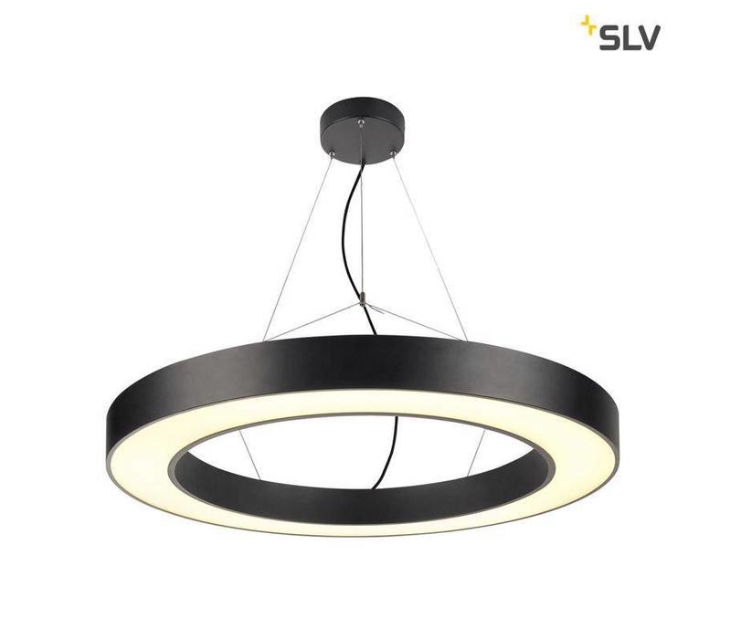 Medo Ring 90 ZWART hanglamp