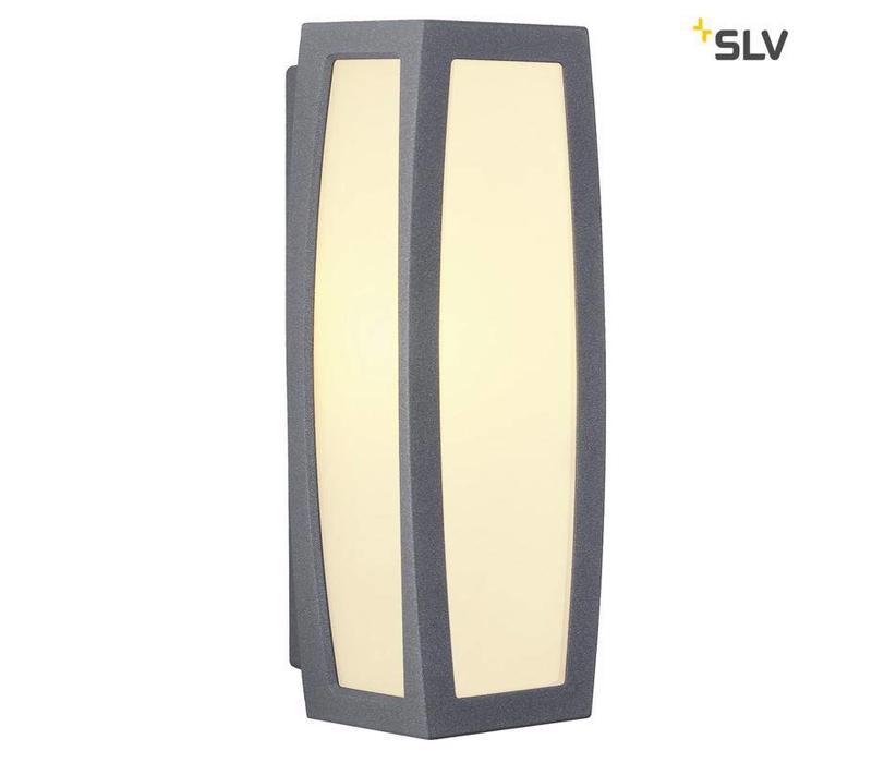 Meridian BOX antraciet wandlamp