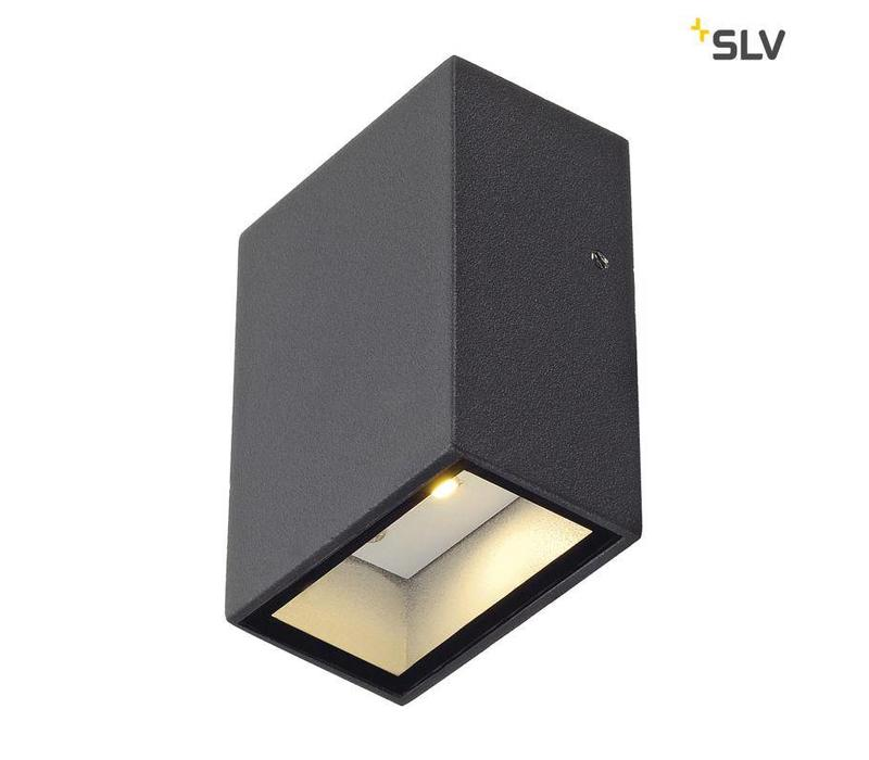 Quad 1 ANTRACIET wandlamp