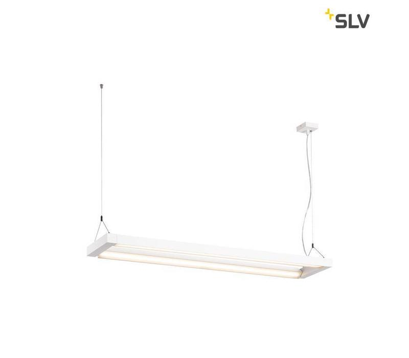 Long Grill WIT LED hanglamp