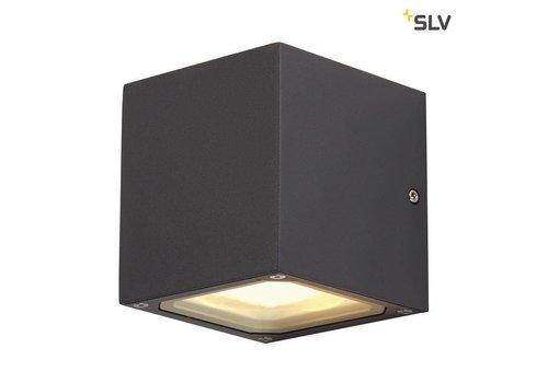 SLV Sitra Cube ANTRACIET wandlamp