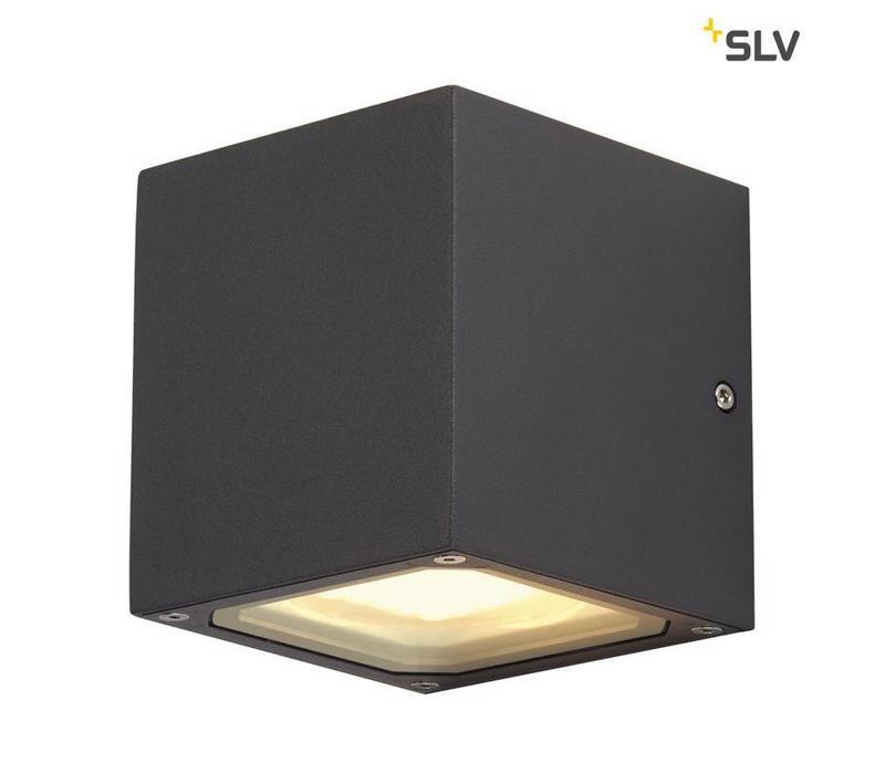 Sitra Cube ANTRACIET wandlamp