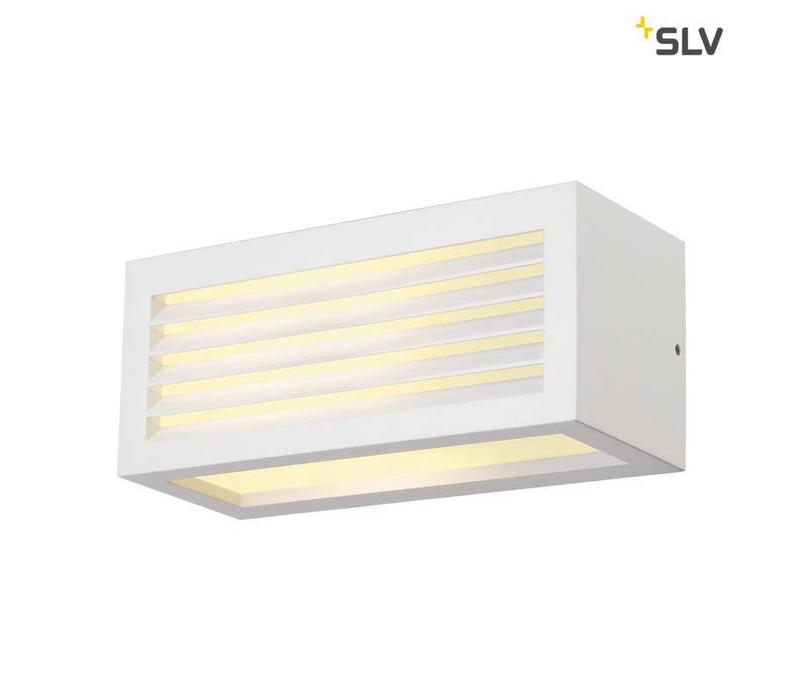 BOX-L E27 WIT wandlamp
