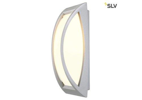 SLV MERIDIAN 2 zilvergrijs wandlamp