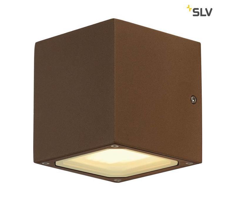 Sitra Cube ROESTKLEUR wandlamp