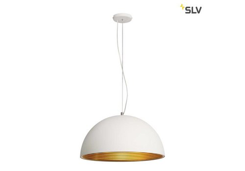 SLV Forchini M PD-1 wit / goud hanglamp